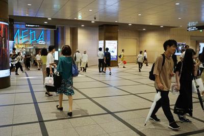阪急大阪梅田駅からコリ研究所までその5