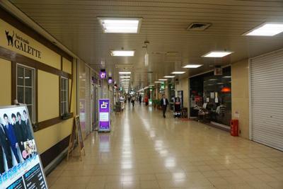地下鉄四つ橋線『西梅田駅』からコリ研究所までその5