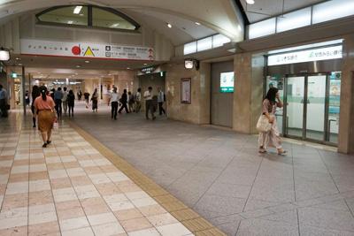 JR東西線『北新地駅』からコリ研究所までその6