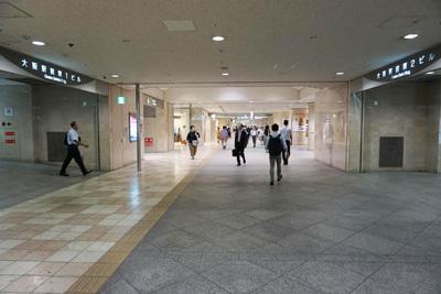 JR東西線『北新地駅』からコリ研究所までその7