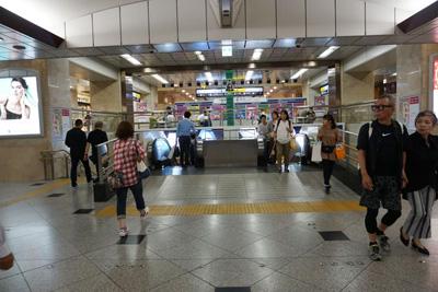 JR各線『大阪駅』からコリ研究所までその3