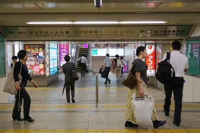 地下鉄四つ橋線『西梅田駅』からコリ研究所までその2